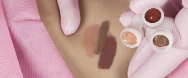 Mikropigmentacjia brodawki piersiowej szkolenie